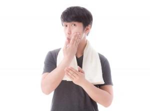 頬を洗う際の注意